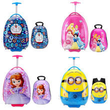 Nieuwe ''Inch Kids Koffer Reisbagage Carry On Trolley Bagage Tas Cabine Koffer Voor Kind Gift Case Cartoon Bagage set(China)