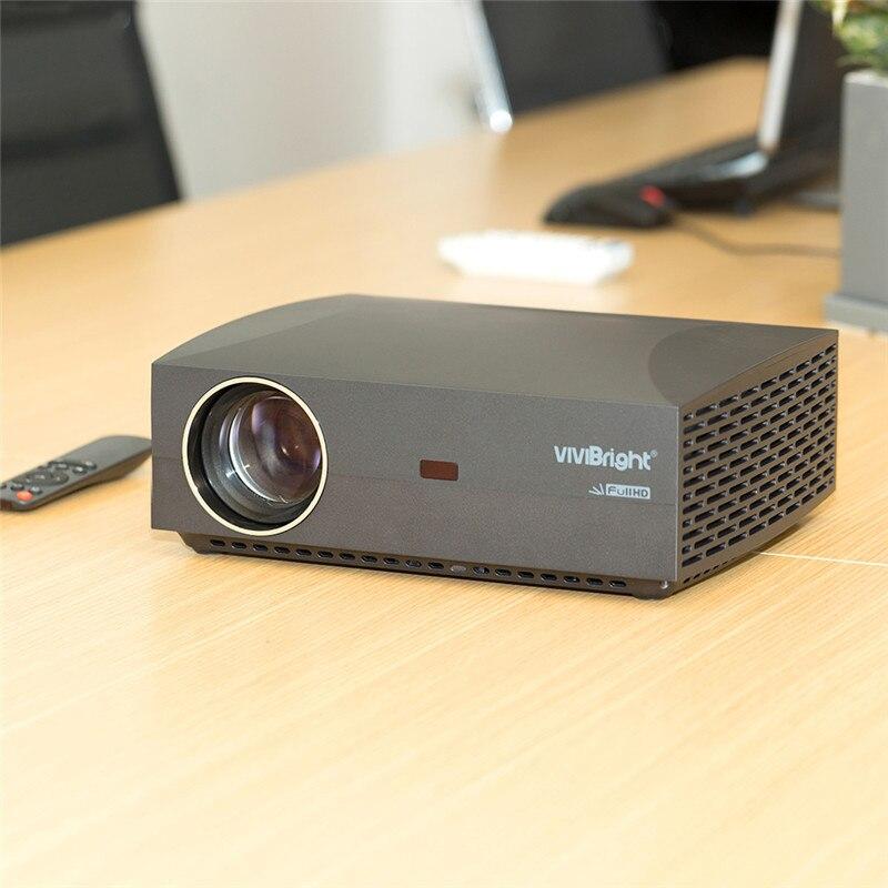 VIVIBRIGHT F30 LCD Projektor FHD 1920x1080 P 4200 Lumen 50000hrs Lampe Leben Heimkino Proyector für Home Office 30UP Android