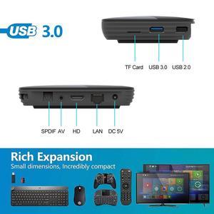 Image 3 - HK1BOX 4GB 128GB 8K Amlogic S905X3 חכם טלוויזיה תיבת אנדרואיד 9.0 כפולה Wifi 1080P 4K youtube ממיר HK1 תיבת PK X96AIR X3 A95XF3
