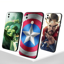 Captain America Funda For Huawei Honor 6X 8X 9 lite case for 10 Phone cover Shell