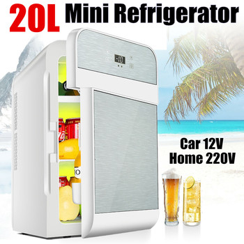 20L Hot & Cold CNC Dual-core Refrigerator For Home Student Single-door Refrigerator 1