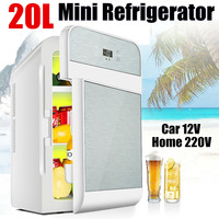 20L Hot & Cold CNC Dual core Refrigerator For Home Student Single door Refrigerator