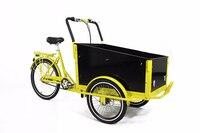 Elektrische pedal fracht dreirad fahrrad essen warenkorb freies verschiffen durch meer CFR begriffe