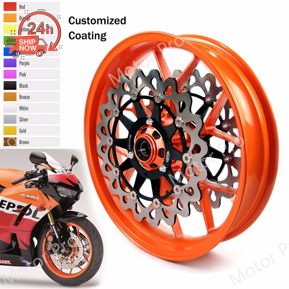 For Honda CBR 1000 RR CBR1000RR 2008-2015 2009 2010 Front Rear Brake Disc Rotors