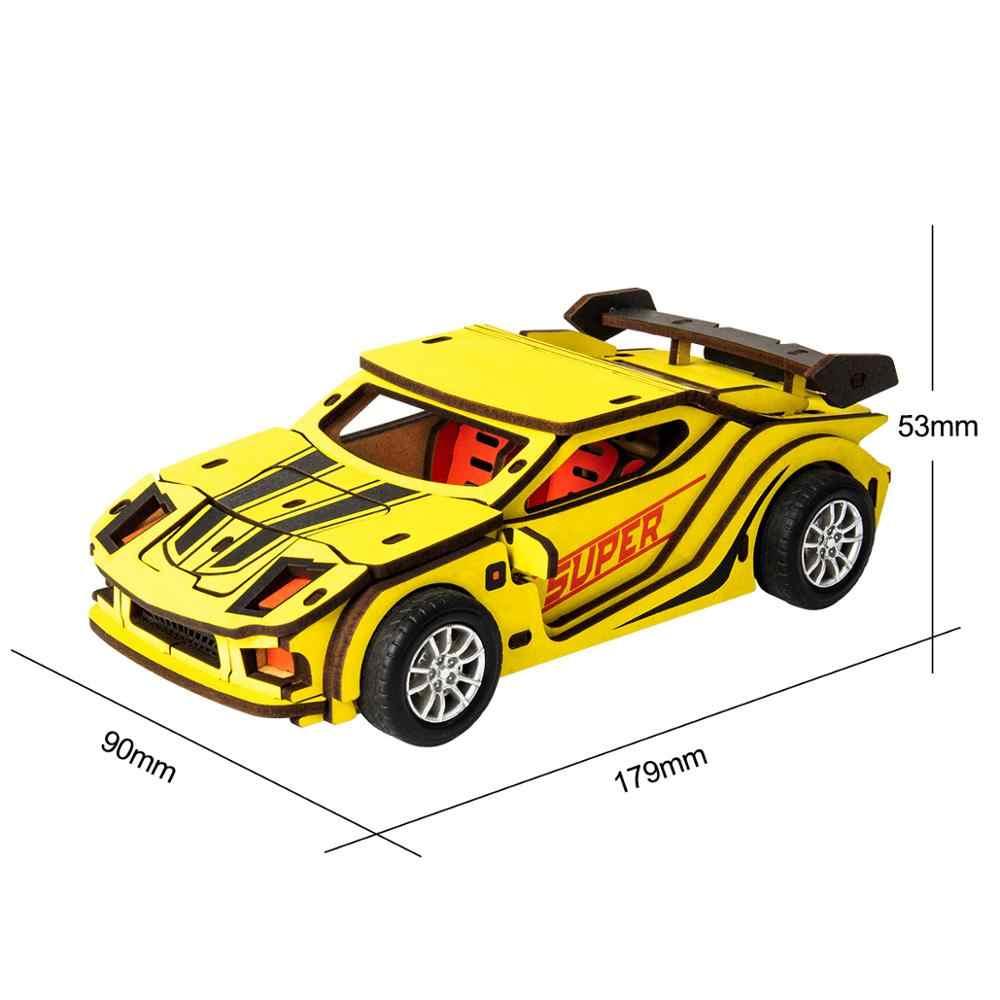 Robotime, coche para niños, juguetes, vehículos de fricción, Kits de  construcción, conjunto de juguetes de madera para niños| | - AliExpress
