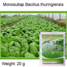 Insecticide Bacillus Thuringiensis Touch-Kill-Pest Monosultap Maag Samengestelde Geneeskunde