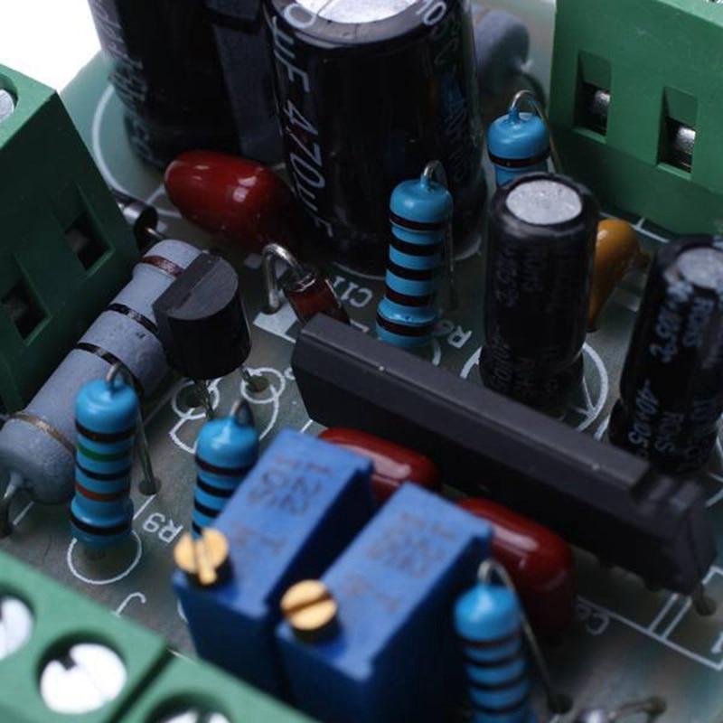 DC 12V Power Amplifier VU Meter Driver Board DB Audio Level Meter VU Header Driver Speaker TA7318P DENON 3