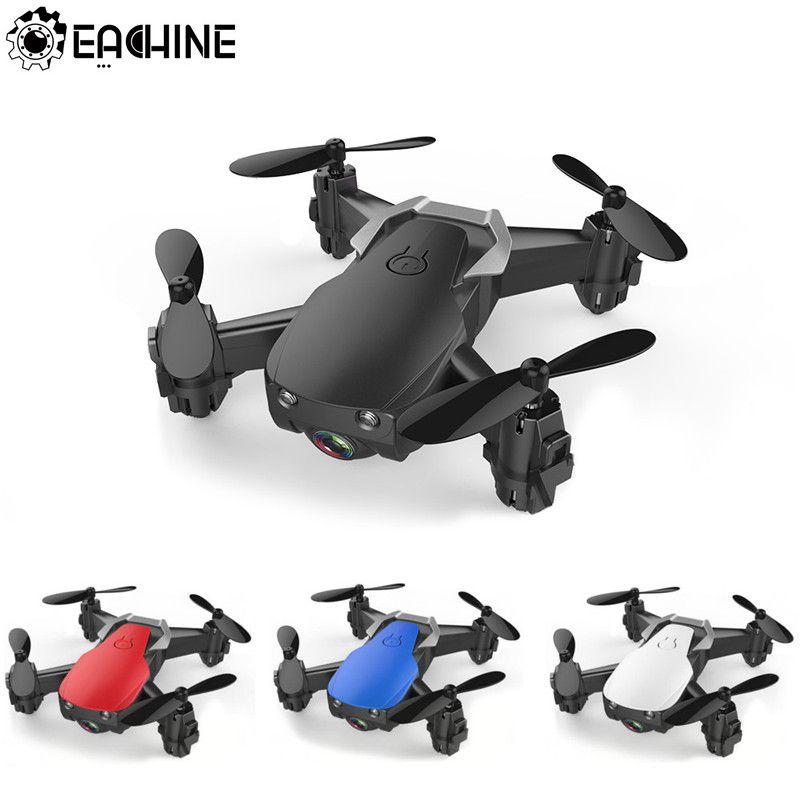 Eachine E61/E61hw Mini Drone con/sin cámara HD Modo de retención RC Quadcopter RTF WiFi FPV plegable helicóptero del HS210