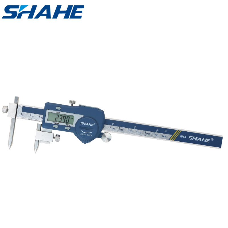 stainless steel electronic digital vernier caliper 5-150 mm digital center distance caliper paquimetro digital micrometer