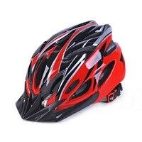 사이클링 헬멧 일체 성형 슈퍼 라이트 mtb 산악 도로 자전거 헬멧 여성 남성 casco ciclismo capacete 57-63 cm