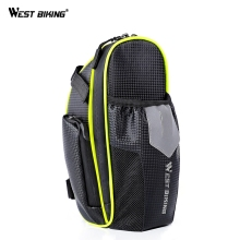 WEST BIKING Cycling Bike Bicycle Saddle Bag For MTB Road Mountain Waterproof Bicycle Bike Seat Front Bag Cycling Accessories rockbros tool bicycle bag rainproof cycling riding bike bag portable mtb road bike water bottle cycling bag bike accessories