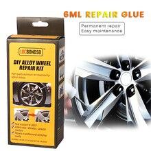 Alloy-Wheel-Repair-Kits Rim Paint-Care Silver Auto Adhesive Dent Damages DIY Scratch-Surface