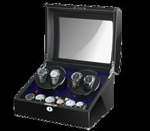 5 trybów 4 + 6 pokrętło zegarka na zegarki automatyczne nowa wersja drewniany zegarek zestaw akcesoriów zegarki przechowywanie kolektora tanie tanio CN (pochodzenie) Baking Finish Wood Nowy z metkami AC adapter Battery Support Drawer with key 5 modes PU Leather Ultra-quiet Japanese motor