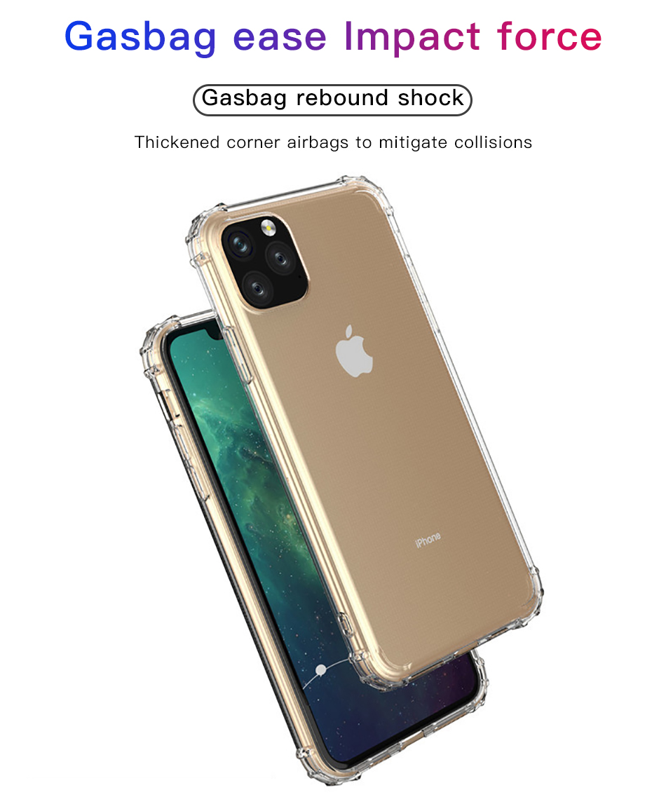 !ACCEZZ For iPhone 11 Case 2019 For iphone 11 Pro Max New Soft Cases Transparent Protection Back Cover Mobile Phone Shell Coque (3)