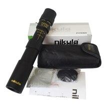 Оригинальный бинокль Nikula 10 30x25 зум монокулярный прицел высокое качество телескоп Карманный Binoculo охотничья оптическая Призма без штатива