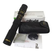 Original binoculars Nikula 10 30x25 Zoom Monocular Scope high quality Telescope Pocket Binoculo Hunting Optical Prism no tripod
