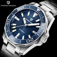 Watches Men Mechanical-Wristwatch Sapphire Glass Pagani-Design Waterproof Top-Brand Luxury
