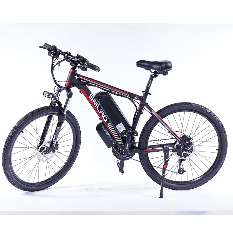 """C6 F 26""""Electric Bike with Removable 48V Lithium-Ion Battery Electric Mountain Bike Adult 350W Powerful Motor Fast Battery 3"""