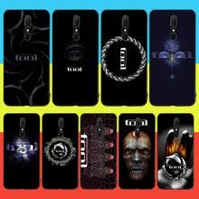PENGHUWAN инструмент металл рок-группа логотип Мягкий силиконовый черный чехол для OPPO А5 А9 2020 Рино з Realme5Pro Р11 случае