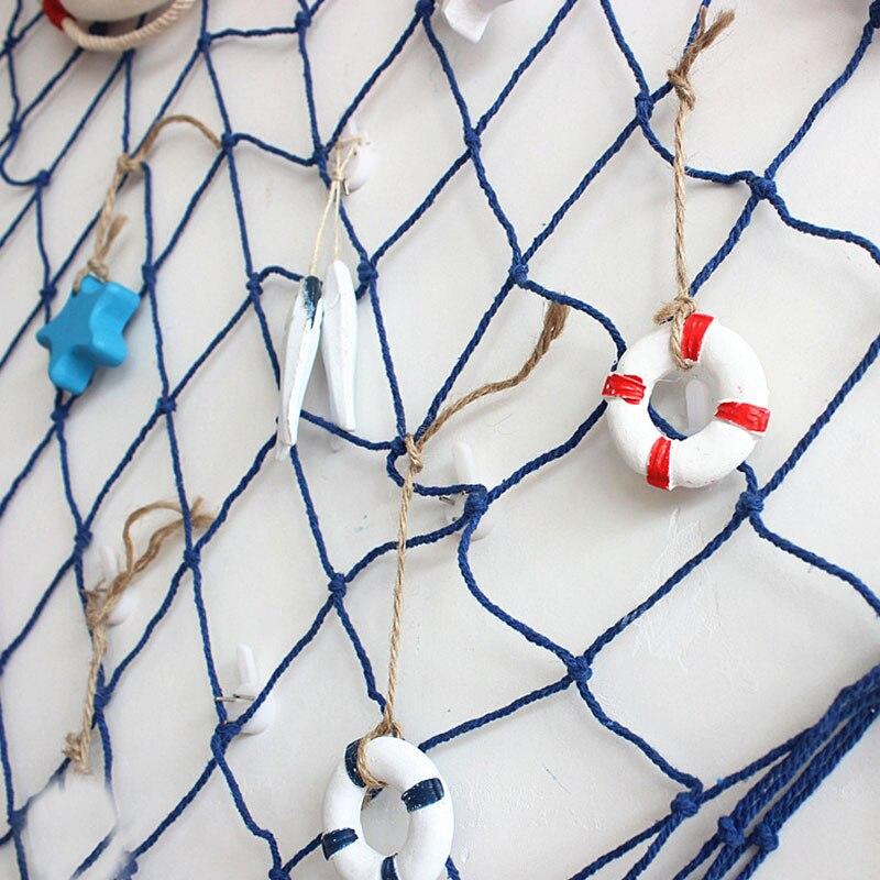 Ikan Kecil Resin Starfish Kayu Dekorasi Memancing Aksesoris Bersih Hiasan Dinding Dekoratif Jala Lifebuoy Kreatif Lonceng Angin Menggantung Dekorasi Aliexpress