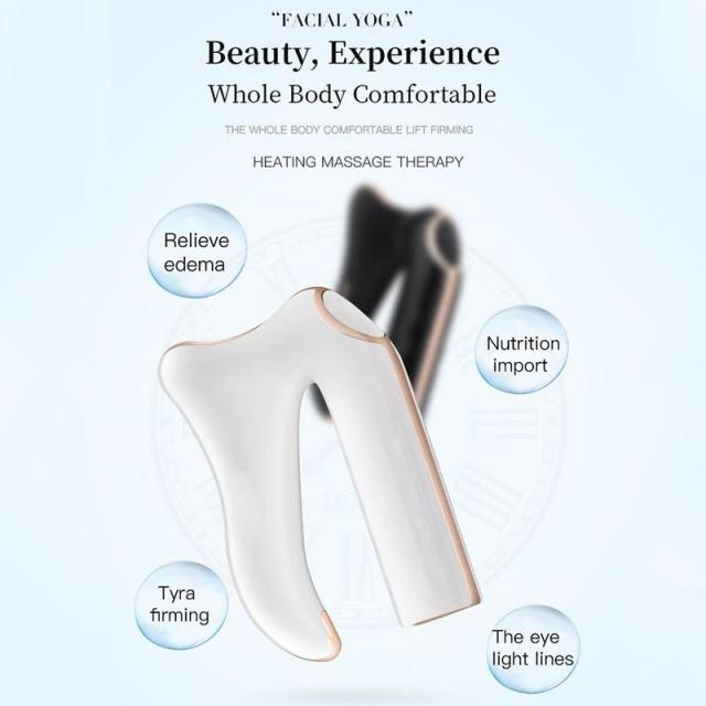 New Type Handheld Deep Muscle Fascia Massage Gun Fascia Scraping Scalpel Massager U Type Multifunctional Fascia Beauty Equipment 3