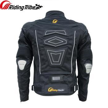 Motorcycle Jacket Heavy Protective Coat Summer Breathable Reflective Moto Rally Motocross Professional Design Racing Suit JK-30