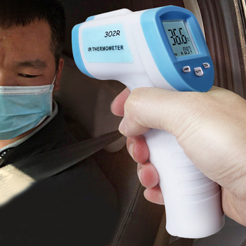 Handheld Infrared Thermometer Temperature Meter LCD Non-contact Forehead 32-42.9 C Measuring XHC88