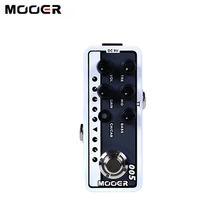 MOOER 005 BROWN SOUND Dual Channel Preamp Guitar Pedal Modern Day 80s Digital Preamp Preamplifier 3 Band EQ 2 Modes True Bypass