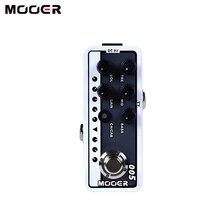 MOOER 005 Pedal de guitarra preamplificador Digital de doble canal, preamplificador de 3 bandas EQ, 2 modos