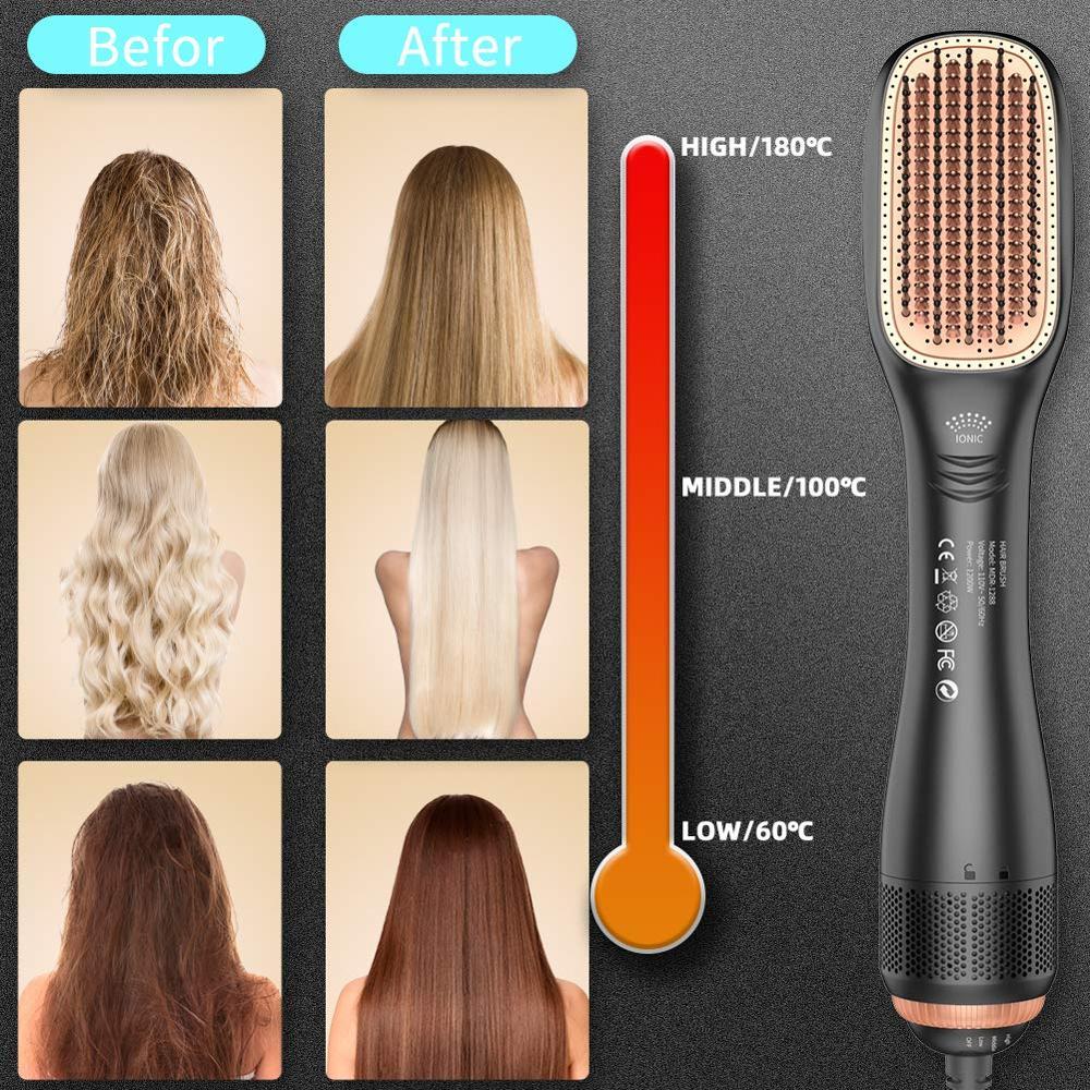 1200w ionic alisamento escova secador de cabelo 05