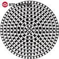 WS2812B DIY RGB светодиодный Ring 37-241 пикселей WS2812 круглые модули SK6812 5050 встроенный RGB адресуемый DC5V светодиодный круг Arduino Ring