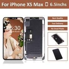 5 шт. ЖК-дисплей для телефона XS Max ЖК-дисплей сенсорный экран сборка дигитайзер сенсор для iPhone X XR XS Max экран ЖК-дисплей