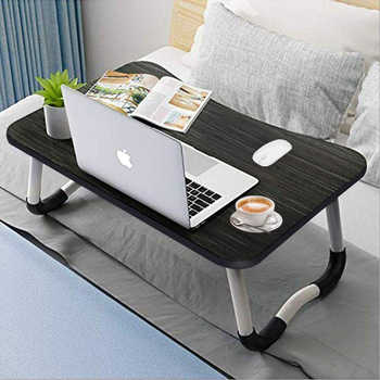 Laptop Bed Table Breakfast Tray Foldable Legs Portable Lap Standing Desk Notebook Stand Reading Holder for Couch Sofa Floor Kids - DISCOUNT ITEM  20 OFF Furniture
