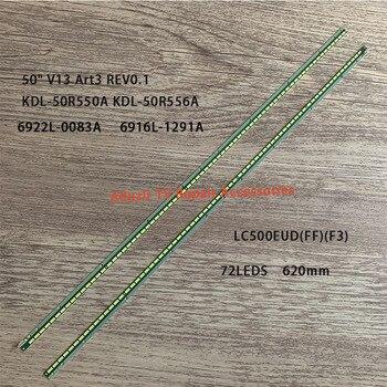 "LED Backlight strip 72 lamp For Sony KDL-50R550A 6922L-0083A 1173A 1291A LC500EUD FF F3 F1 50"" V13 Art3 Edge REV0.1 6916L-1173A"