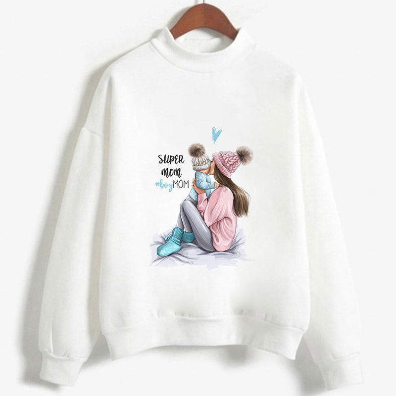 Ladies Thanksgiving Fluffy Sweatshirts Womens Oversized Hoodies Autumn Girls Hat Print Long Sleeve Hooded Clothes