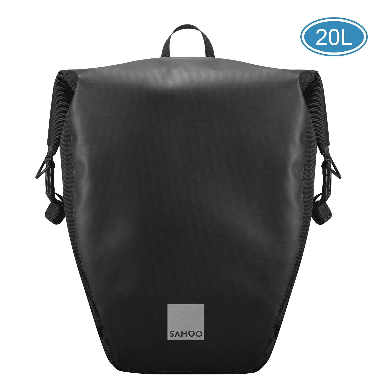 Сумка на багажник велосипеда SAHOO, вместительная, водонепроницаемая, 10 л/20 л