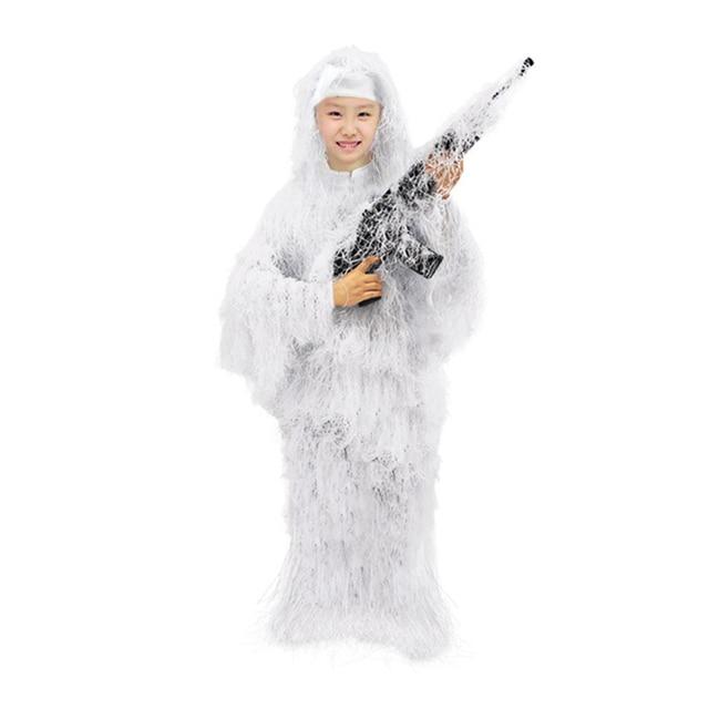 5 шт детский камуфляжный костюм «кленовый лист» фотография