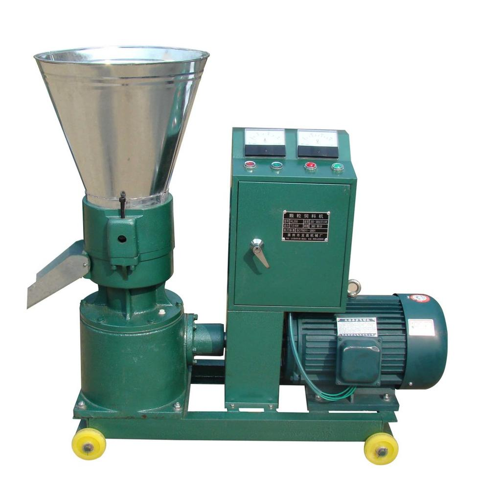 The Capacity 1t/h Animal Mix And Grinder Machine And  Animal Feed Pellet Machine