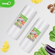 SaengQ sacs sous vide alimentaire scelleur sous vide sac demballage sous vide Packer sacs de rangement nourriture fraîche longue conservation 12 + 15 + 20 + 25 + 30cm * 500cm