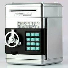 Электронная Копилка сейф для денег коробки для детей цифровые монеты, денежные сбережения сейф банкомат малыш Рождественский подарок