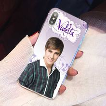 Adorable Silicone Phone Case For Huawei G7 G8 P7 P8 P9 P10 P20 P30 Lite Mini Pro P Smart 2017 2018 2019 Violetta Tv Show(China)