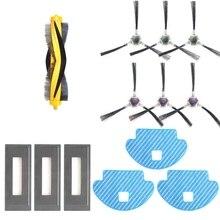 13 шт. в комплекте насадка на швабру центральный главным образом кисточки сбоку Hepa Фильтр Для Ecovacs Deebot Ozmo 930 Запчасти для роботизированного пылесоса