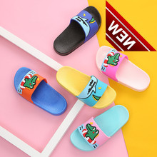 Summer Boysshoes, Childrens Sand Slippers, Girls Household Pvc Flat-soled Leather Shoes Room
