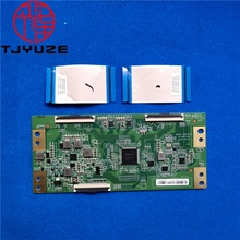 Good test for 47 6021235 55UHD RGB DUAL HV550QUBH10 logic board 55RE6 L55M5 AD T CON board 44 9771479A V555 G4