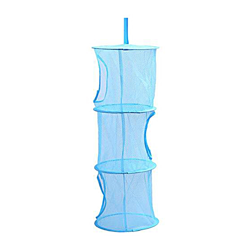 3 Shelf Net Kids Toy Organizer Bag Home Mesh Hanging Storage Bedroom Wall Door Closet