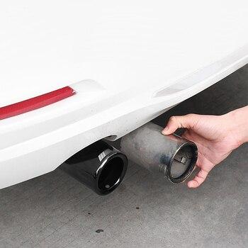 ท่อไอเสียรถยนต์ฝาครอบเอาท์พุท TAIL กรอบอุปกรณ์เสริมสำหรับ BMW 3 4 5 7 Series X1 3GT F20 F22 F30 F32 F34 F10 F48 G30 G11