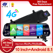 Car-Dvr Navigation Rear-View-Mirror-Fhd Wifi Adas Registrar Streaming Android Gps Auto