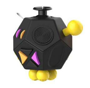 Fidget Cube 12 Surface Second Generation Relaxation Useful Product Resistance Pressure Solution Itchy Irritability Relaxation Di