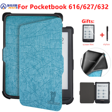 Funda para Pocketbook, 616/627/632 e reader, Sleep Cover para Pocketbook Basic Lux 2/touch Lux/touch HD 3 e book, capa