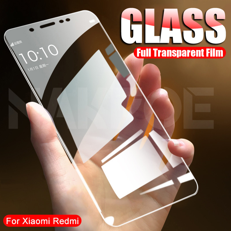 9H Premium Tempered Glass On For Xiaomi Redmi 4 4X 4A 5 5A 5 Plus S2 Go K20 Note 4 4X 5 5A Pro Screen Protector Protective Film